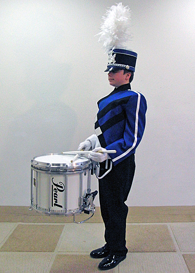Pearl Marching - Snare mit Carrier